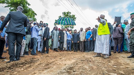 Acting president, Acting President Osinbajo's Visit To Collapsed Mokwa-Jebba Bridge -PHOTOS, Latest Nigeria News, Daily Devotionals & Celebrity Gossips - Chidispalace