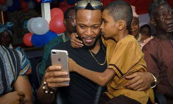 Photo of VIDEO: Emotional Thrilling Song by Flavour featuring Liberian blind boy Sameh – Most High