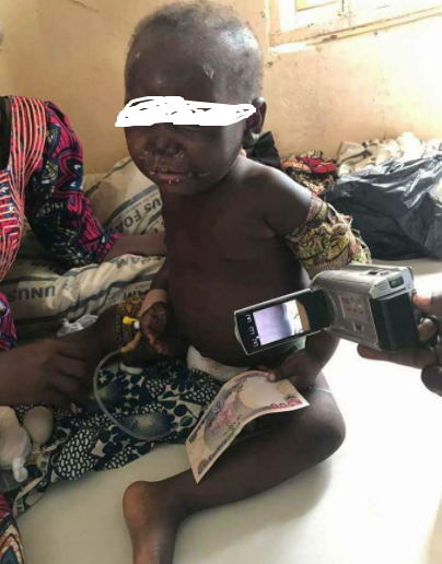 Photos: Father rapes his two year old, brutalizes her in Kaduna