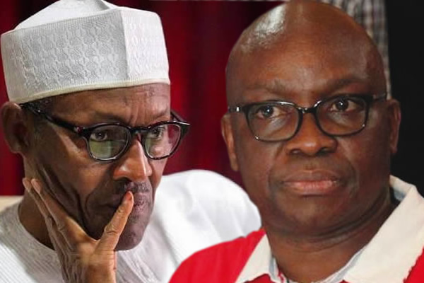 Buhari's men, Armed robbers calling people thieves - Fayose blasts