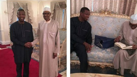 London, Pastor Adeboye visits Buhari in London [See Photos], Latest Nigeria News, Daily Devotionals & Celebrity Gossips - Chidispalace