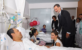 Barcelona Terror attack, Photos of Spainish King and Queen Letizia Visit Victims Of Barcelona Terror Attack