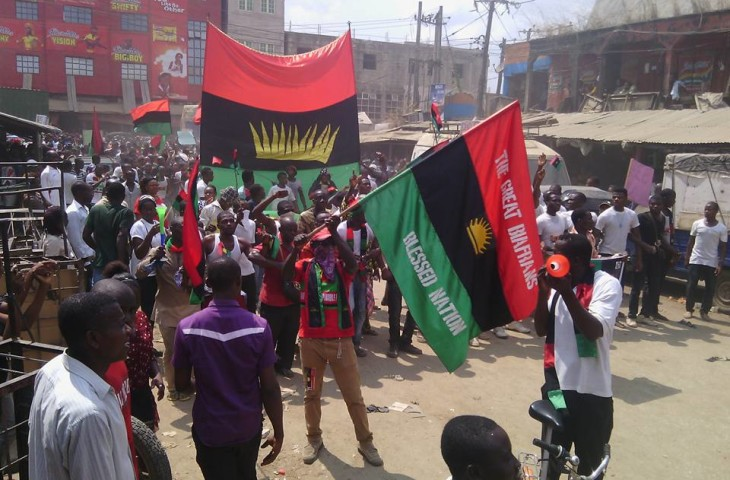 October 1st: IPOB members wear black to mourn loved ones killed by soldiers