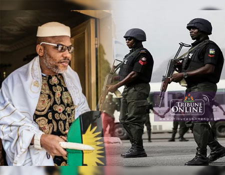 IPOB commences legal action against Anambra police for parading suspect with Biafra insignia