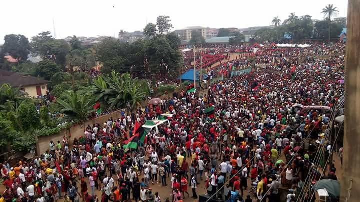 Biafra is a spirit, Biafra is a spirit: You can kill the body but not the spirit