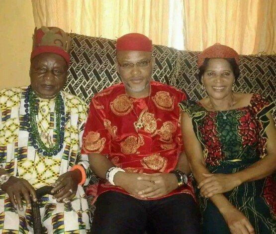 Biafra: What will happen to Nigeria if my son is killed, re-arrested – Nnamdi Kanu's father explodes