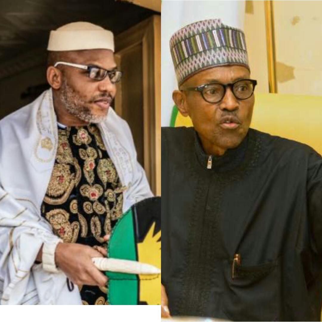 Buhari, Is Nnamdi Kanu the most popular in the world than Buhari?, Latest Nigeria News, Daily Devotionals & Celebrity Gossips - Chidispalace