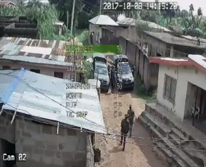 Video: Nigerian Army Caught On Camera Allegedly Looting Nnamdi Kanu's House Today