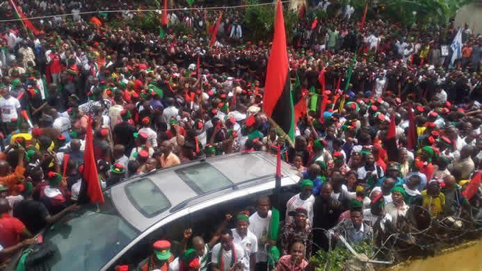 ipob, IPOB reveals date for 2018 sit-at-home protest, includes Middle-Belt in exercise, Latest Nigeria News, Daily Devotionals & Celebrity Gossips - Chidispalace