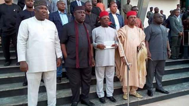 Why Igbo governors are cowards – Nnamdi Kanu's lawyer, Ejiofor