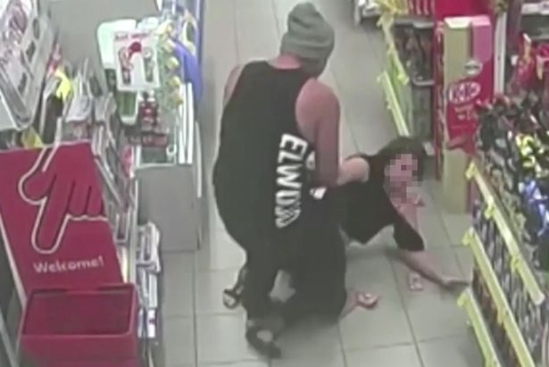 Thug kidnaps and beats girlfriend in shocking attack