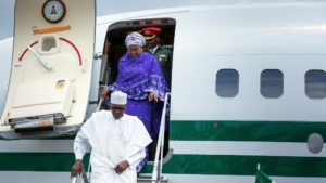 Buhari arrived from Turkey