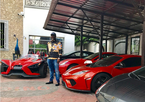 Dino, Photos: Dino Melaye displays his 20 exotic cars, Latest Nigeria News, Daily Devotionals & Celebrity Gossips - Chidispalace