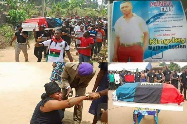 Painful tears as 17-year-old boy allegedly killed by soldiers laid to rest