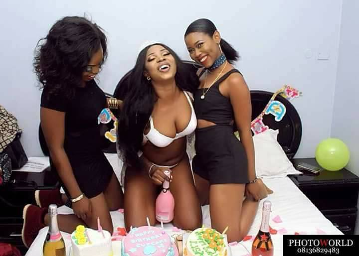 facebook, Birthday photos of a slay Queen went viral after posing with pant on Facebook