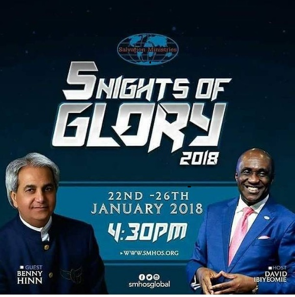 Photo of Live Streming: 5 Nights of Glory 2018 Day 3 with David Ibiyeome