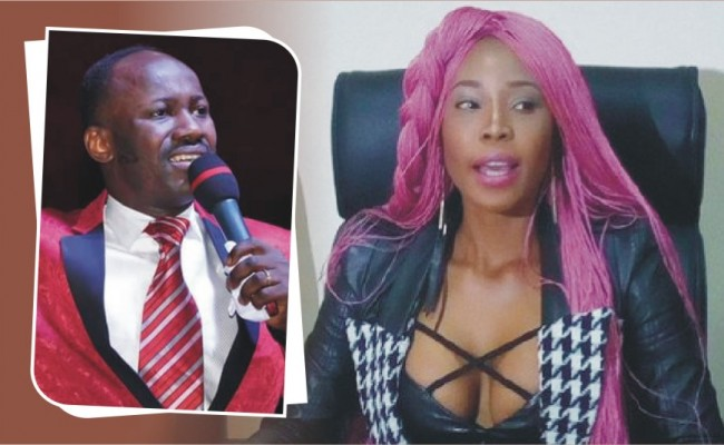 Stephanie Otobo's LIVE confession: I was used by powerful politicians to bring Apostle Suleman down