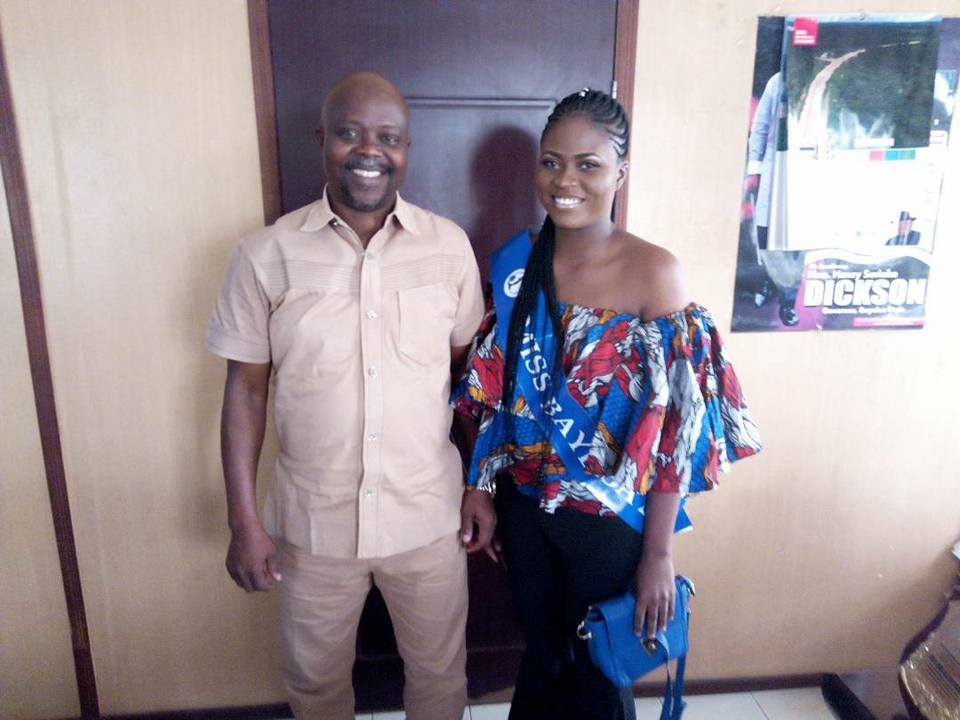 Youths Advocacy: Queen Freda Freda pays visit to Bayelsa Youth Commissioner