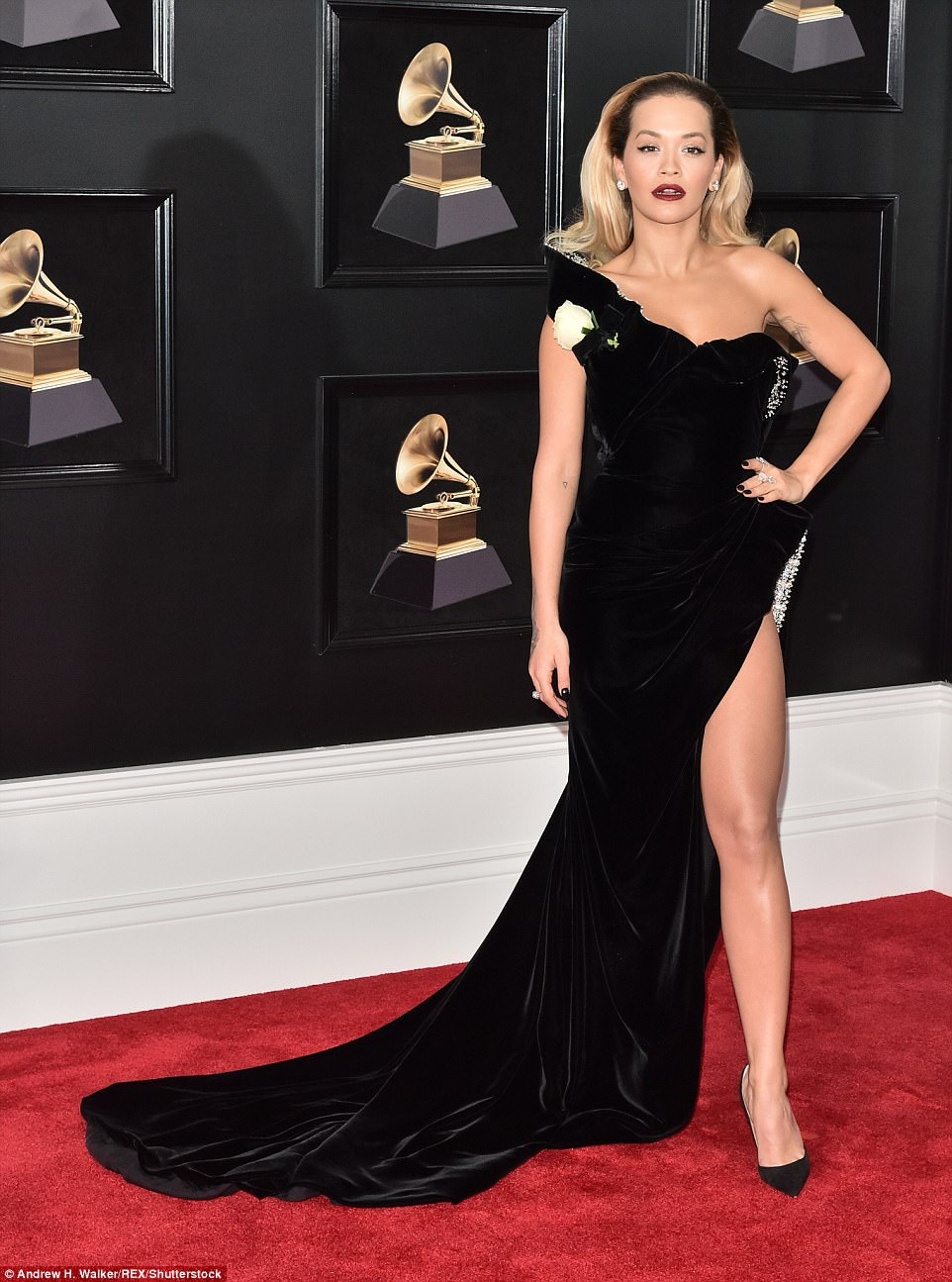 Rita Ora, Rita Ora goes completely unclad to promote her new song (Photo)