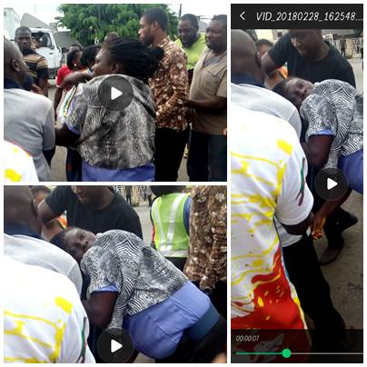 female Police officers, 2 Female Police Officers exchange blows in Yenagoa (Photos/Video), Latest Nigeria News, Daily Devotionals & Celebrity Gossips - Chidispalace