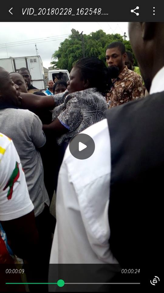 female Police officers, 2 Female Police Officers exchange blows in Yenagoa (Photos/Video)