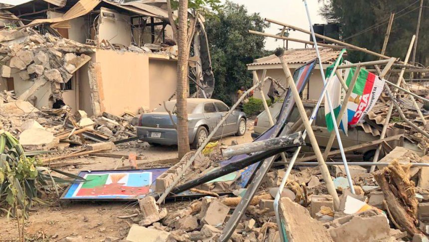 APC, APC Kaduna secretariat demolition is condemnable, says Acting chairman