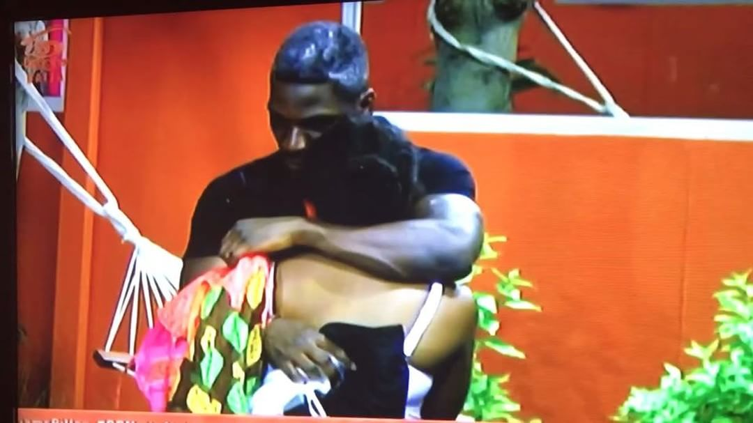 BBNaija 2018 Double Wahala: Thursday night video of Tobi consoling Cee C
