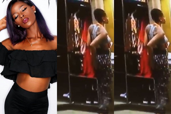 Big Brother Naija 2018 Double Wahala, Big Brother Naija 2018 Double Wahala: Video of Khloe scratching her butt goes viral, Latest Nigeria News, Daily Devotionals & Celebrity Gossips - Chidispalace