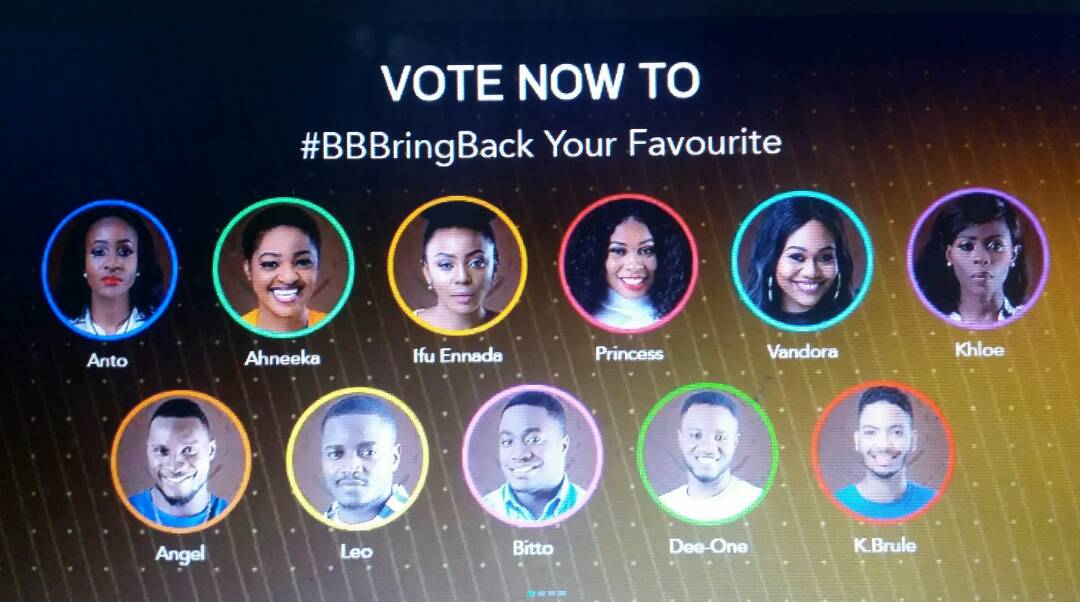 , BBNaija 2018: How to bring back your favorite housemate to big brother