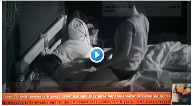 BBNaija 2018: Nina embarrassed as Miracle refused to make love to her - See Photo