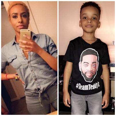 teddy, BBNaija 2018: Teddy-A's baby mama, Layla shows support, campaigns with son – See Photos, Latest Nigeria News, Daily Devotionals & Celebrity Gossips - Chidispalace