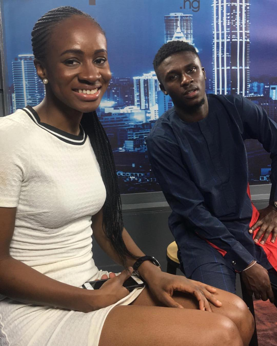 BBNaija 2018 Day 79: Evicted Housemates Lolu and Anto rock together - Video