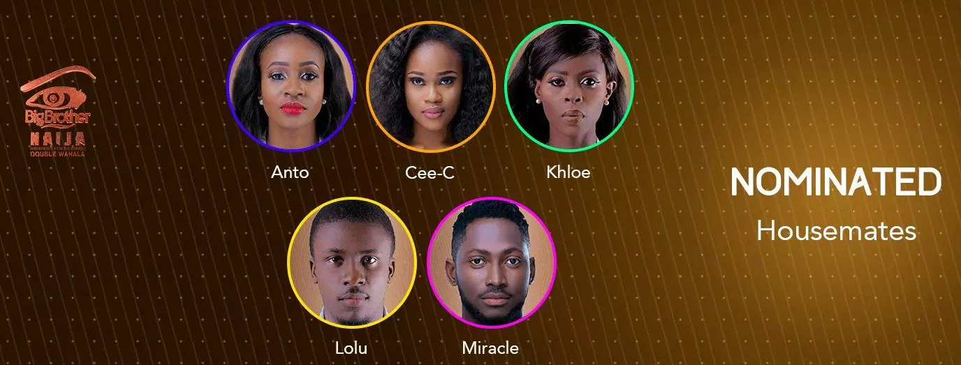 Sunday eviction live update show, BBNaija 2018 Day 63: Sunday eviction live update show – Double Wahala
