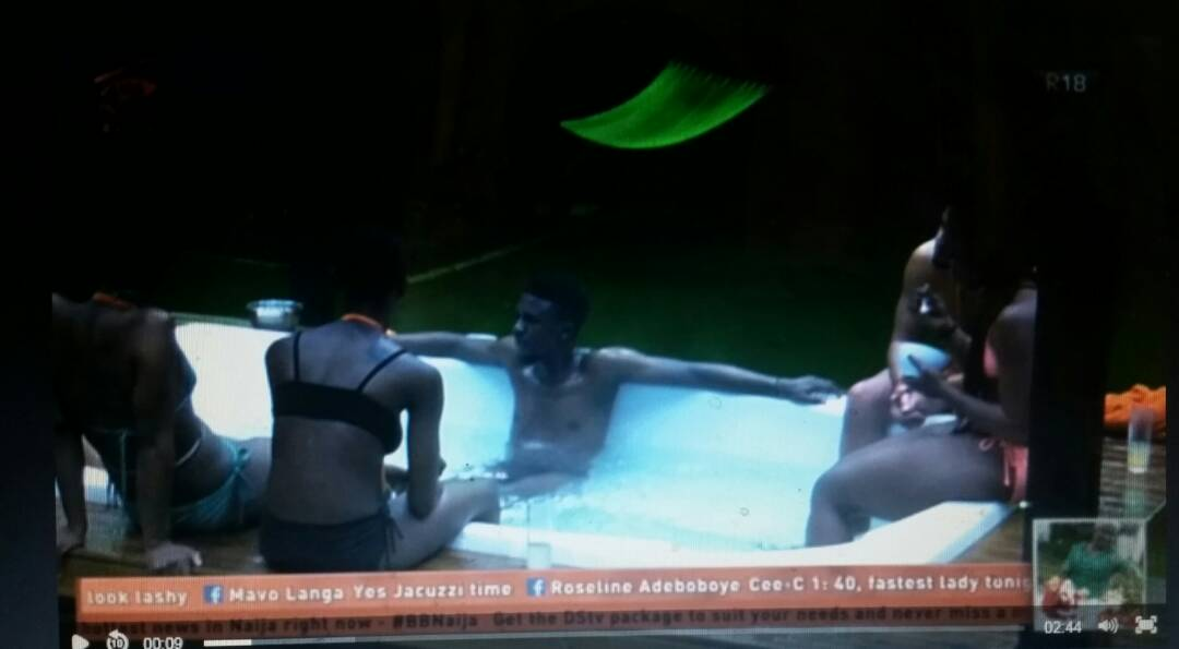 Housemates rumbles in midnight Jacuzzi, BBNaija 2018: Housemates rumbles in midnight Jacuzzi – Watch Video, Latest Nigeria News, Daily Devotionals & Celebrity Gossips - Chidispalace
