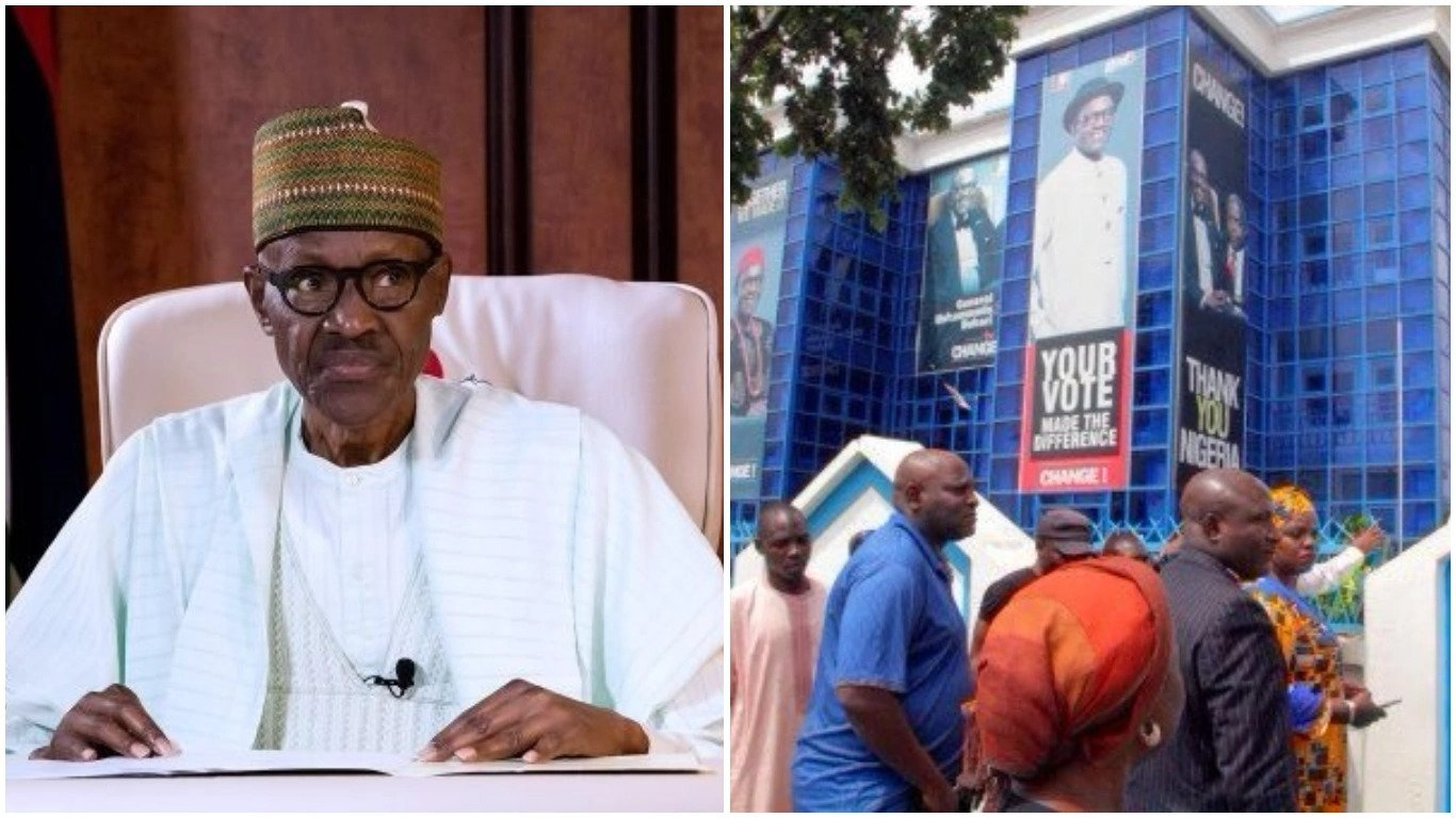 buhari office to be demolition