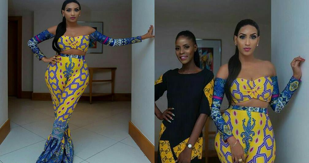 BBNaija: Actress Juliet Ibrahim steps out on Khloe-made-alluring outfit - Photos