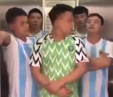 chinese, Hilarious video of Chinese men mocking Super Eagles after their defeat by Argentina team(Video), Latest Nigeria News, Daily Devotionals & Celebrity Gossips - Chidispalace