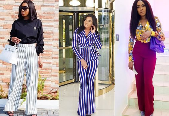 Nollywood Actress, Chika Ike Shows Off Abs And Debuts New -6071