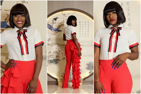 Weekend Photo: Alex Unusual turns model, slays in new photo shoot