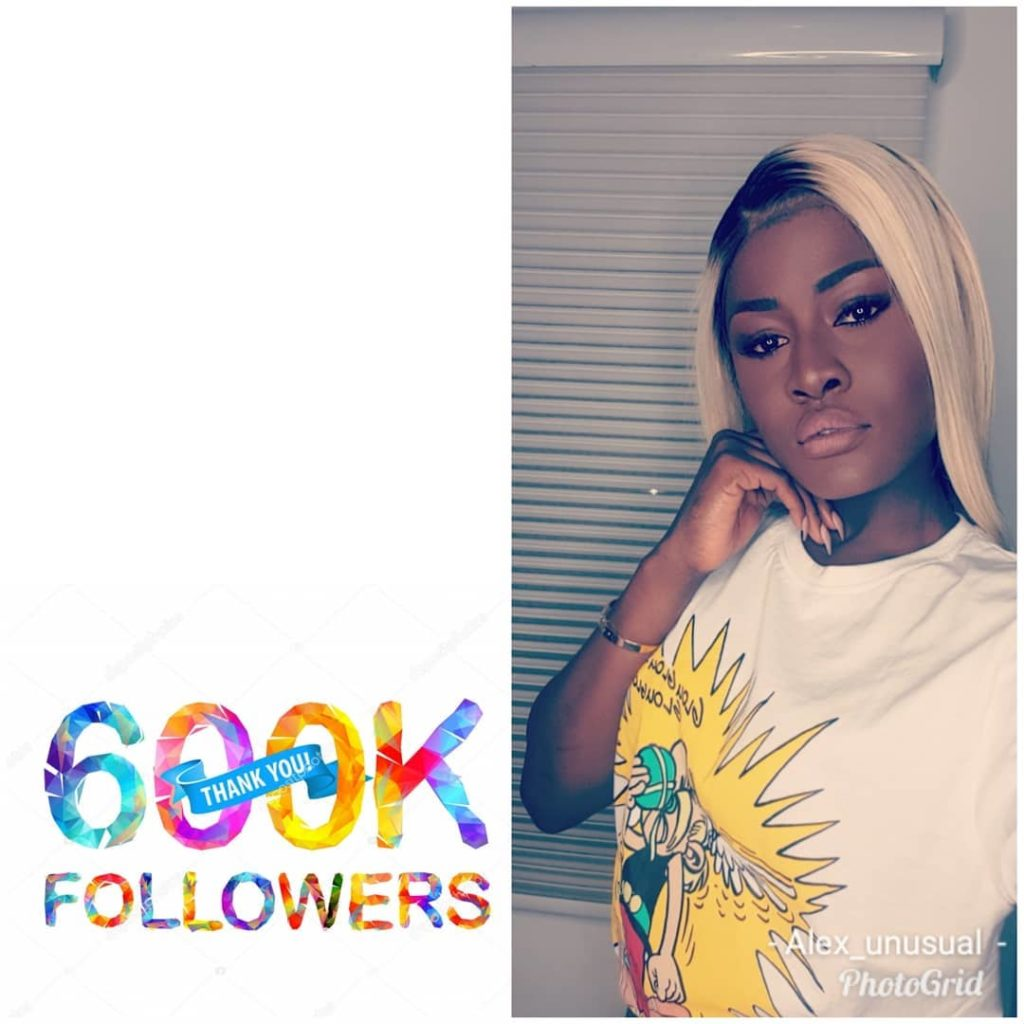 BBNaija: See what Alex did after hitting six hundred thousand followers on Instagram