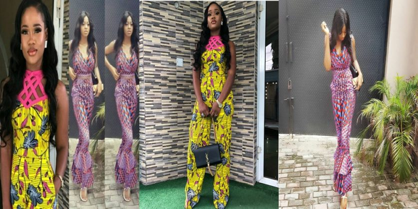 BBNaija: Battle Of The Ankara Jumpsuit, Cee-C Vs Ahneeka, Who Rocked It Better? See Photos