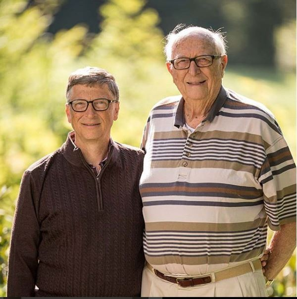 Billionaire Bill Gates, Billionaire Bill Gates celebrates his dad on Father's Day, says he's the real 'Bill Gates'