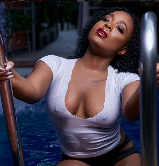 Moet Abebe Throws It Back, freaks her fans with twin-nipples (Photo)