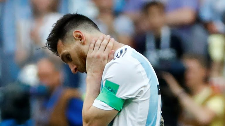 Argentina, 2018 World Cup: Superstar Mbappe sends Messi and Argentina home in World Cup classic, Latest Nigeria News, Daily Devotionals & Celebrity Gossips - Chidispalace