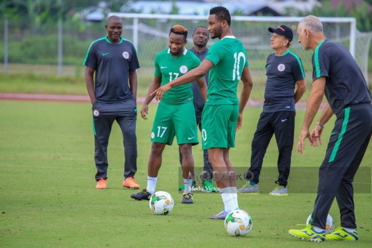 Ogenyi, 2018 World Cup: Ogenyi Onazi dropped as Super Eagles assistant captian 'after fight with Mikel'