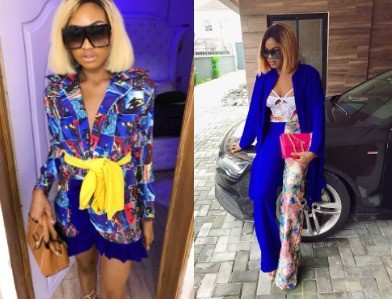 Angry Nigerian lady shares photos of the dresses an Instagram fashion designer made for her for N60k