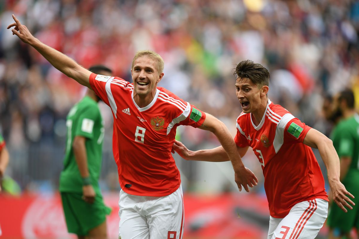 2018 World Cup: Russia thrashed Saudi Arabia 5 - 0 on the opening