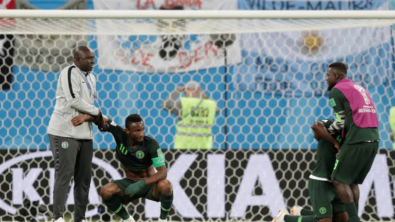 Super Eagles sends out of 2018 world cup