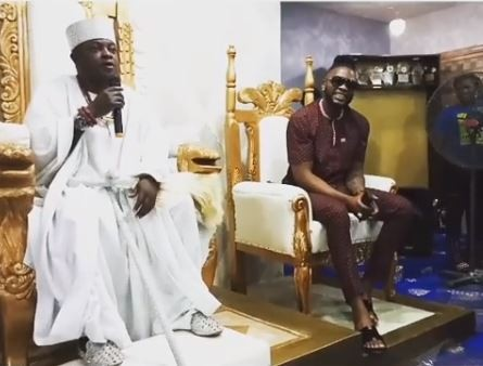 Teddy A, BBNaija: Teddy A receives chieftancy title In Ondo State (Video), Latest Nigeria News, Daily Devotionals & Celebrity Gossips - Chidispalace