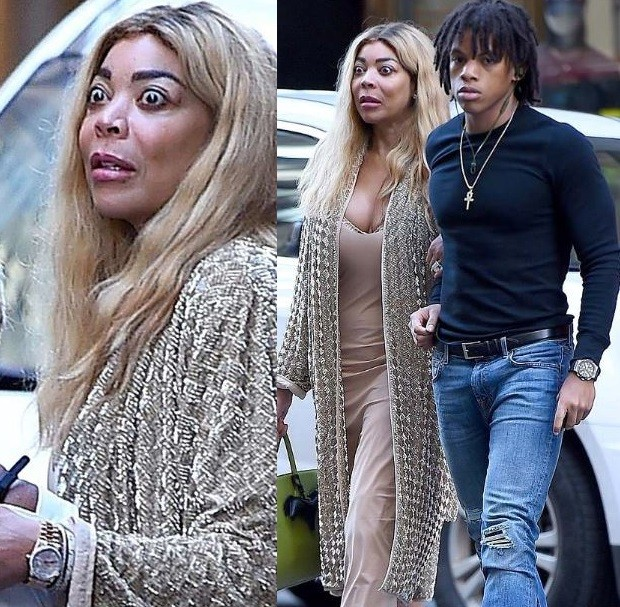 , Wendy Williams spotted out and about with her husband Kevin Hunter (Photos)